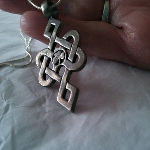 Jewelry - Celtic Pendant & 925 Chain